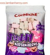 Kẹo Marshmallows hình gấu vị tổng hợp CorNiche 70g