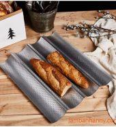 Khay bánh mì 4 rãnh 38x33x2,5cm
