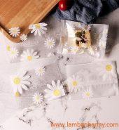 Túi đựng bánh hàn miệng hình hoa cúc