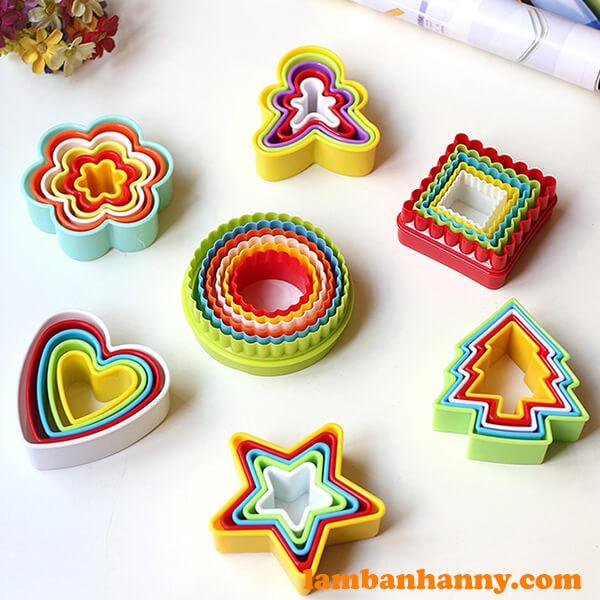 Anny Shop có đầy đủ các mẫu mã Khuôn cutter nhựa đa dạng kiểu dáng-