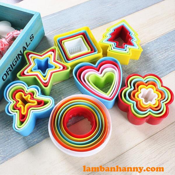 Anny Shop có đầy đủ các mẫu mã Khuôn cutter nhựa đa dạng kiểu dáng