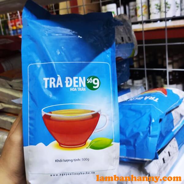 Anny có sẵn các loại trà đen giúp bạn pha chế trà sữa hương vị Đài Loan thơm ngon