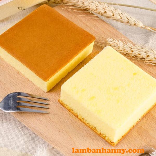 Bánh bông lan mẫu vuông