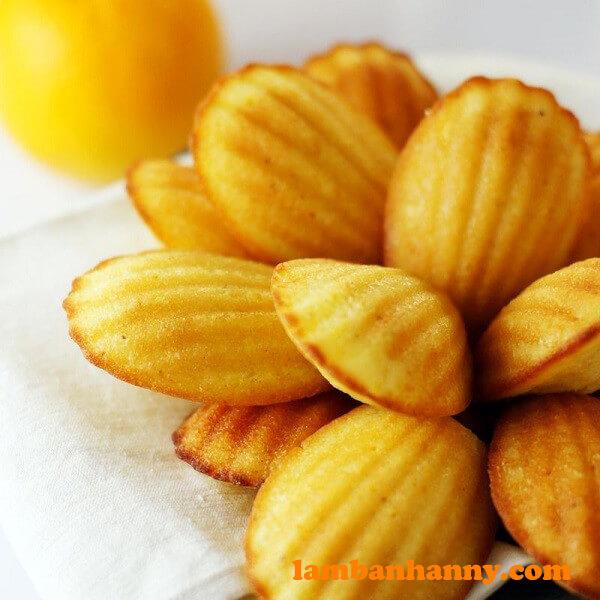 Bánh vỏ sò madeleine kiêu kỳ của Pháp
