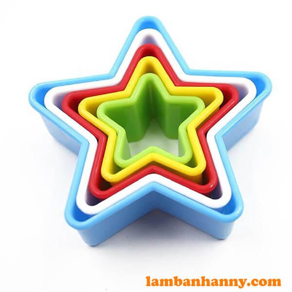 Bộ khuôn cutter nhựa hình ngôi sao-2