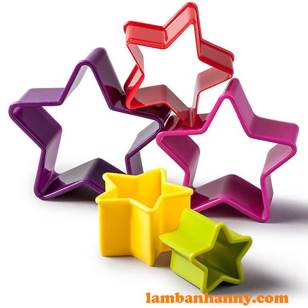 Bộ khuôn cutter nhựa hình ngôi sao