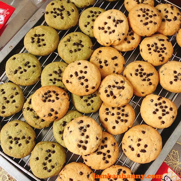 Biến tấu bánh quy trà xanh thơm ngon