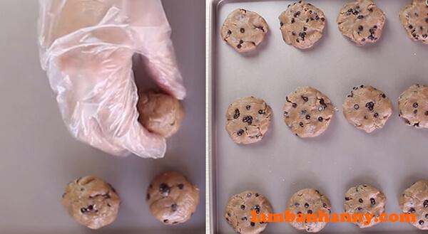 Cách làm bánh quy socola chip nhanh chóng đơn giản