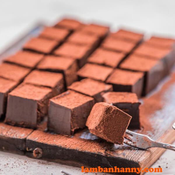 Cách làm nama chocolate vừa thơm ngon vừa đơn giản