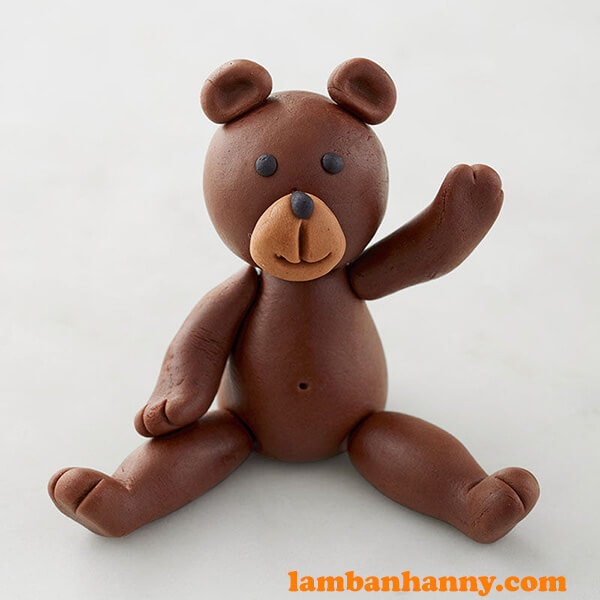 Fontdant Bear