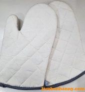 Găng tay vải lò nướng dài