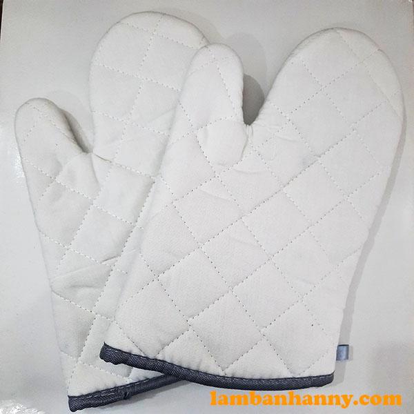 Găng tay lò nướng ngắn