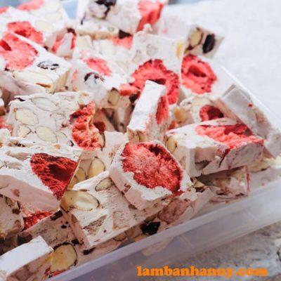 Kẹo Nougat hạnh phúc với đầy chất dinh dưỡng bổ ích