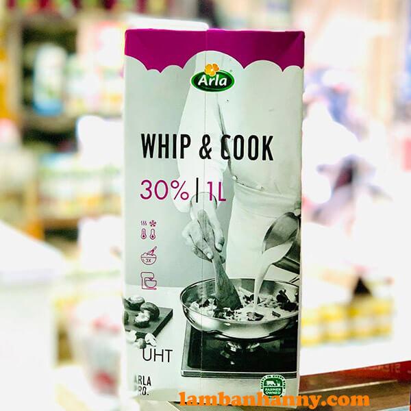 Kem tươi Whipping & Cooking