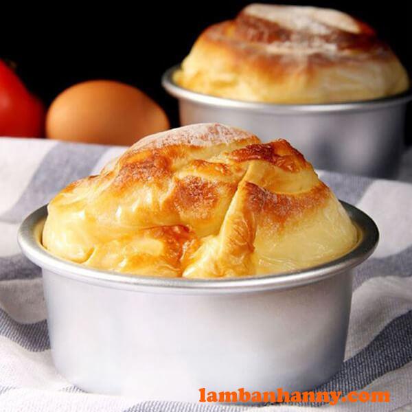 Khuôn tròn đế rời có thể giúp bạn làm ra nhiều loại bánh khác nhau