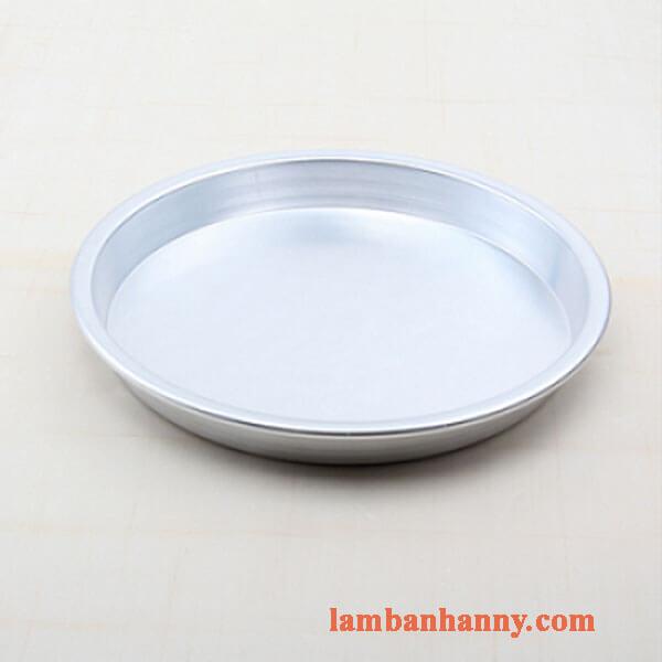 Khuôn pizza tròn size 16-22cm (trắng) 1