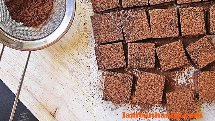 Nama chocolate mềm dẻo