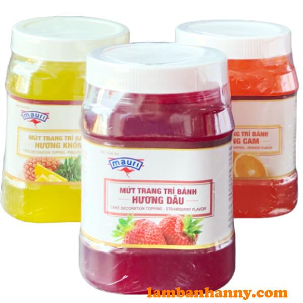 Sản phẩm mứt AB Mauri đa dạng với nhiều hương vị khác nhau