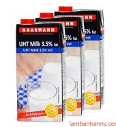 Sữa Full Cream Naarmann 1L