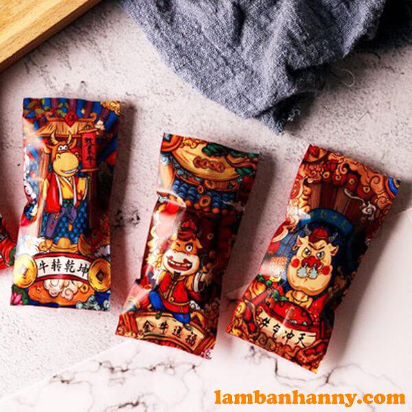 Vỏ kẹo Nougat Tân Sửu - lốc 200 cái
