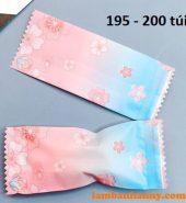Vỏ kẹo Nougat hồng xanh – lốc 200 cái