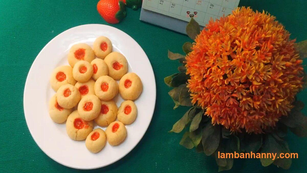Cách làm bánh quy nhân mứt vô cùng đơn giản để dành nhâm nhi trong máy ngày tết