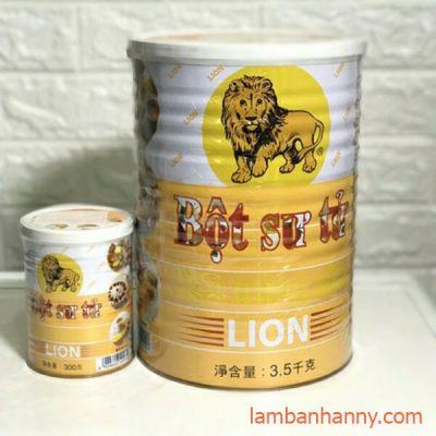 bột sư tử
