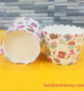 Cup giấy chữ i love coffee 5cm-50 chiếc
