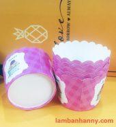 Cup giấy hình bánh cupcake 5cm-50 chiếc