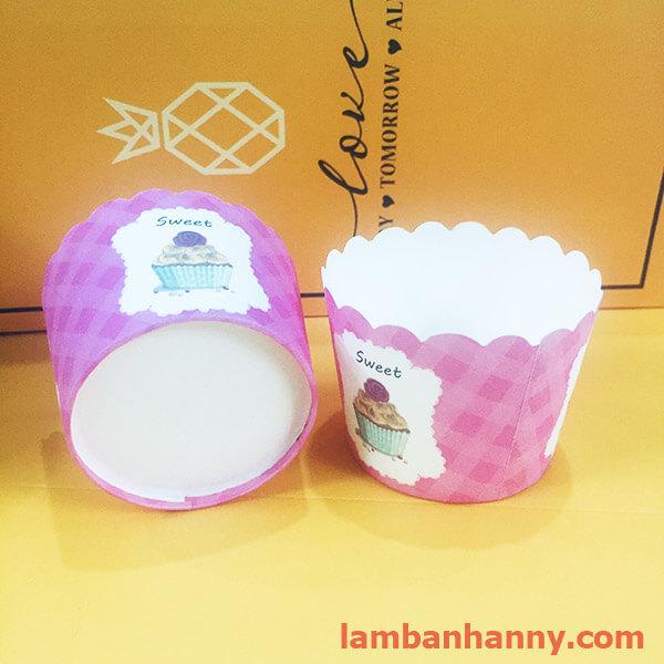 cup giấy hình cupcake 5cm-50 chiếc 2