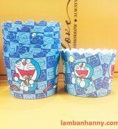 Cup giấy hình doraemon 5cm-50 chiếc
