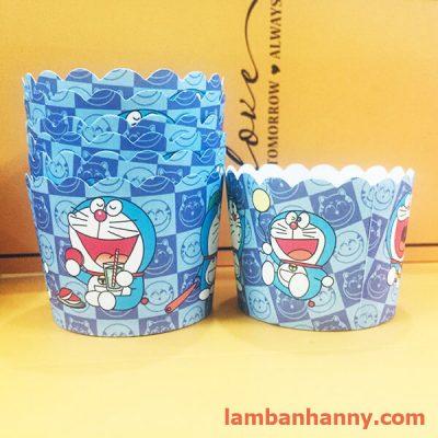 cup giấy hình doraemon 5cm (50 chiếc) (1)