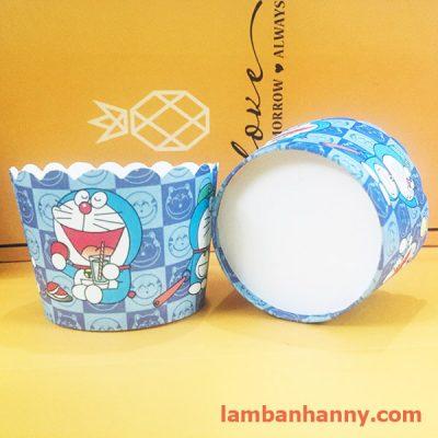 cup giấy hình doraemon 5cm (50 chiếc) 2