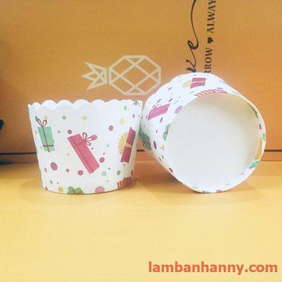 cup giấy hình món quà 5cm-50 chiếc 1