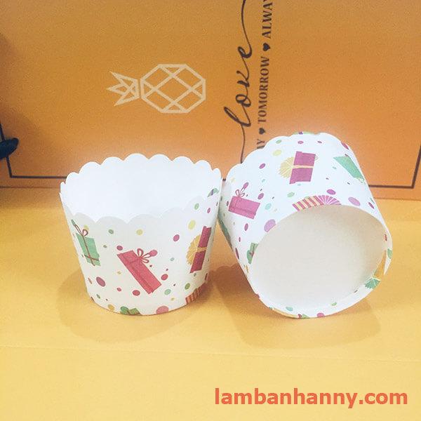 cup giấy hình món quà 5cm-50 chiếc 2