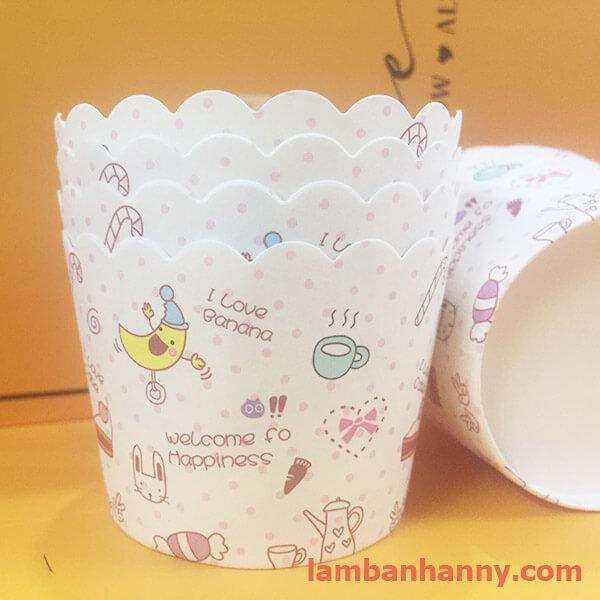 cup giấy hình quả chuối 5cm-50 chiếc 2