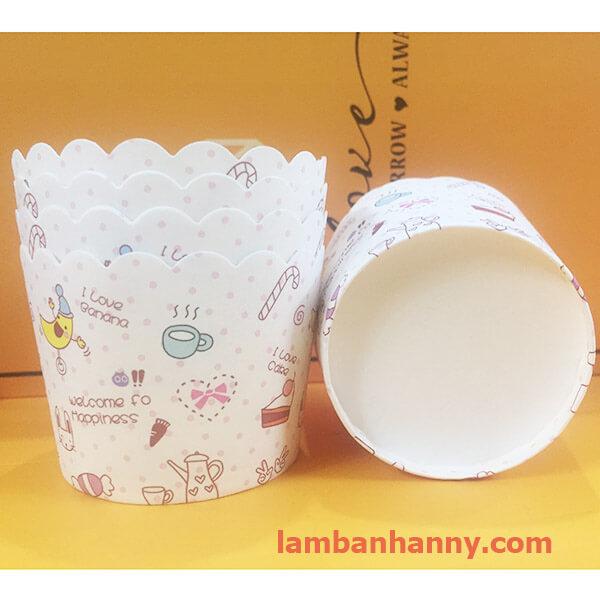 cup giấy hinh quả chuối 5cm-50 chiếc