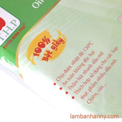 giấy thâm dầu thực phẩn