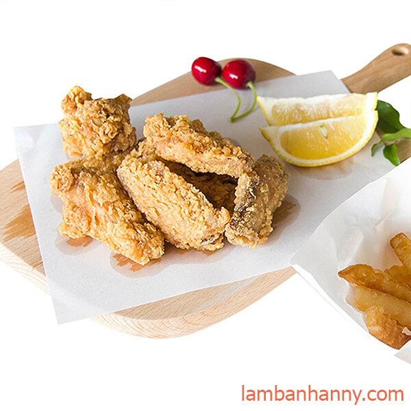 giấy thấm dầu thực phẩm 1