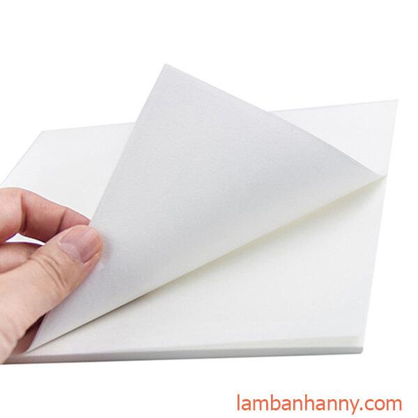 giấy thấm dầu thực phẩm