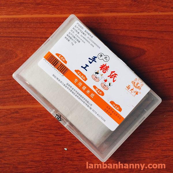 hộp giấy gạo gói kẹo 3
