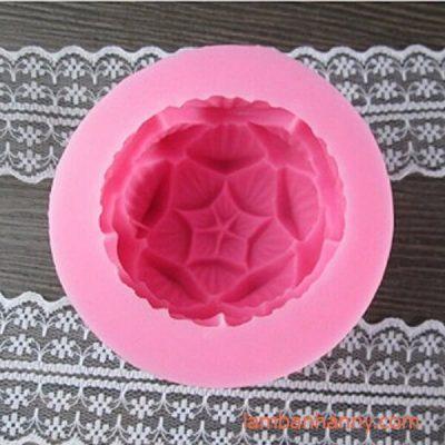 khuôn silicon 4D hoa sen búp 2