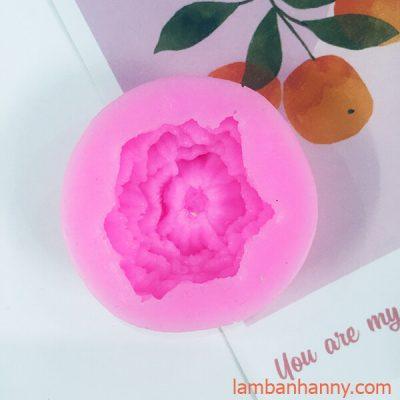 khuon silicon 4D hoa cam chuong 4