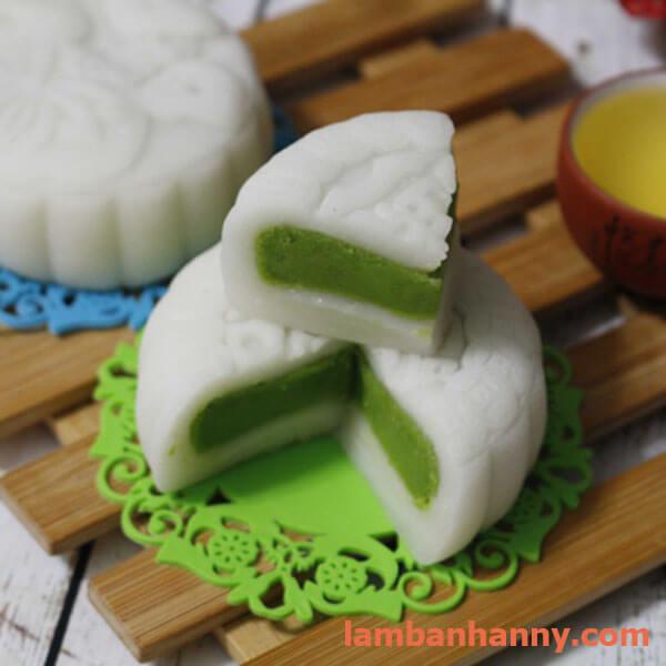 bánh dẻo nhân hạt sen đậu xanh