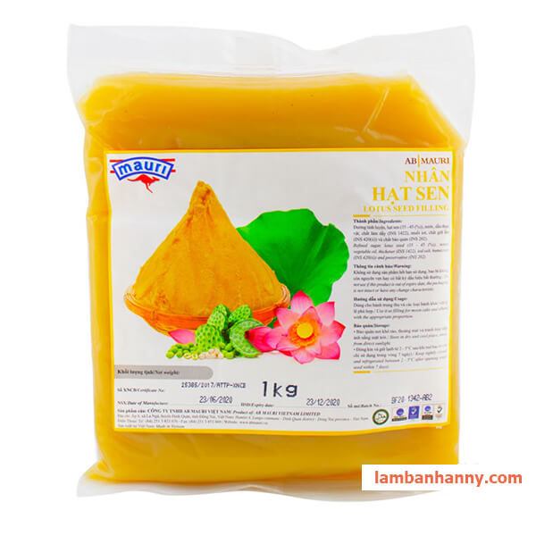 nhân hạt sen mauri 1kg 1