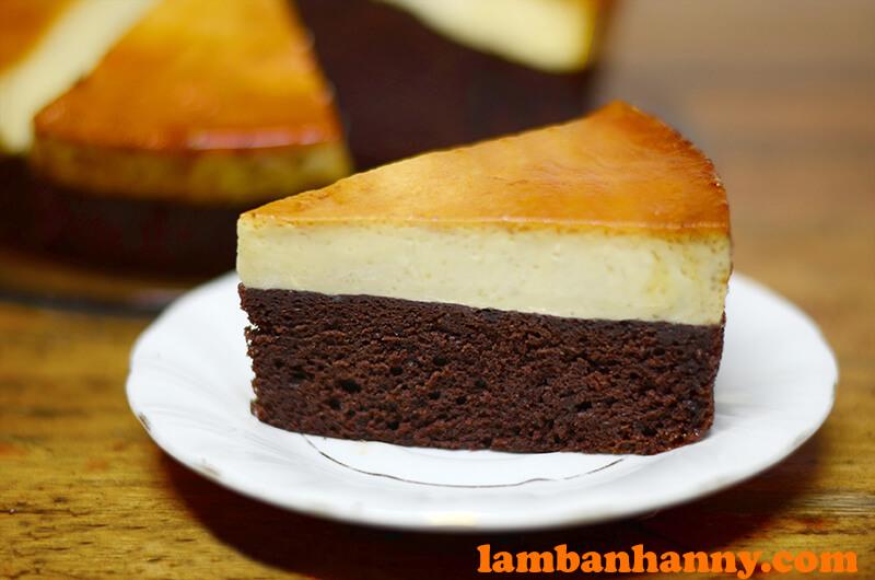 Bánh Chocolate Caramen Flan