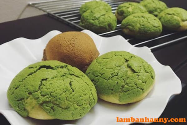 Bánh Papparoti trà xanh