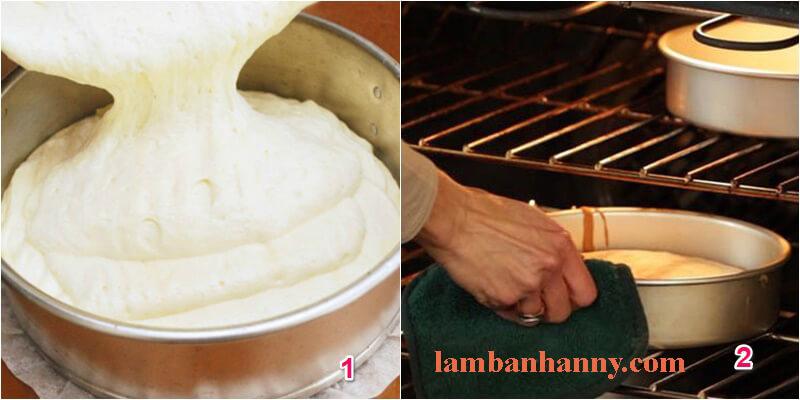 Cách làm bánh bông lan hong kong 2
