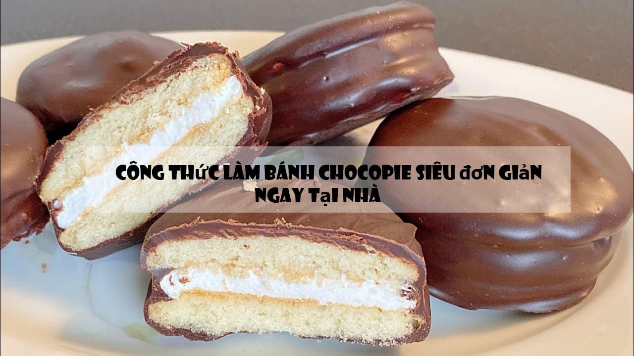 Công thức làm bánh chocopie siêu đơn giản ngay tại nhà
