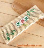 Mành tre cuộn cơm kimbap